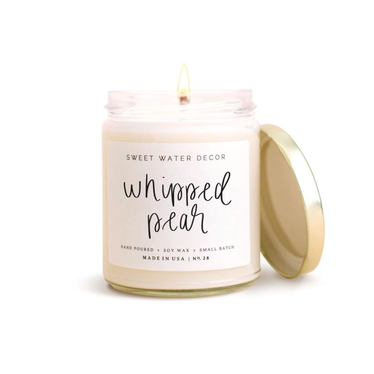 Whipped Pear Soy Candle-Same-Day-Flower Delivery-Las-Vegas-Henderson-NV