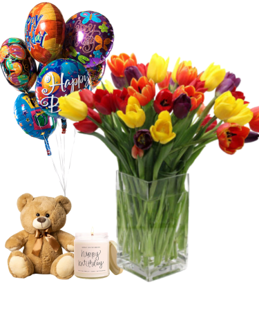 Birthday Package-Same-Day-Flower Delivery-Las-Vegas-Henderson-NV