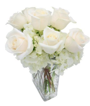 Endearing Hydrangea & Rose Arrangement-Same-Day-Flower Delivery-Las-Vegas-Henderson-NV