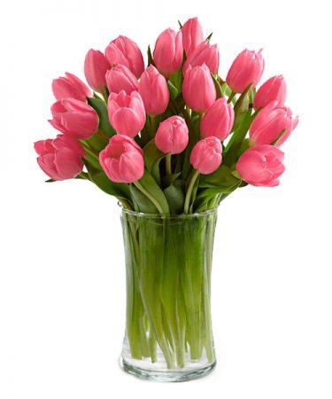 Pink Tulip Palisades Bouqet-Same-Day-Flower Delivery-Las-Vegas-Henderson-NV