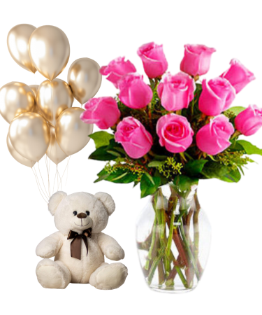 Congratulations Bundle-Same-Day-Flower Delivery-Las-Vegas-Henderson-NV