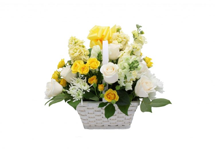 Yellow and White Comfort-Same-Day-Flower-Delivery-Las Vegas-Henderson-NV