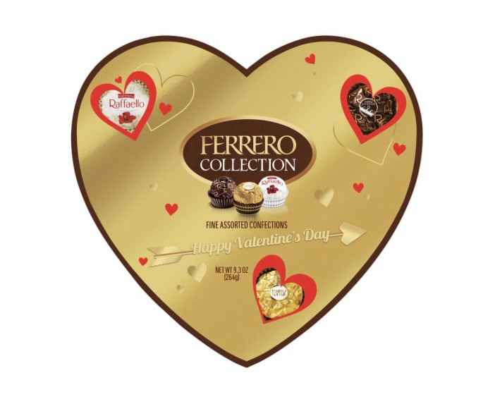 Ferrero-Rocher-valentines-day-assorted-chocolate-in-a-heart-shaped-box-whispers-and-honey-same-day-flower-delivery-in-las-vegas-henderson-NV