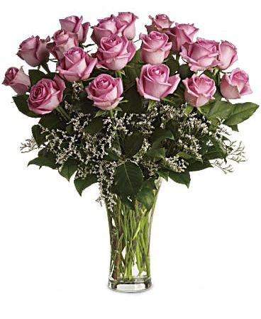 Make Me Blush-18 Long Stame Roses-Same-Day-Delivery-Las Vegas-Henderson-NV