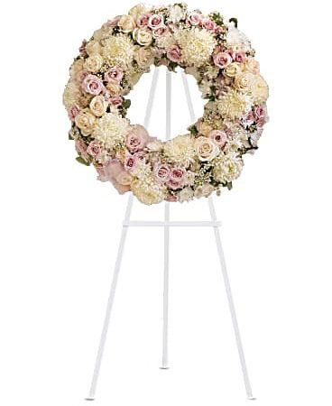 Peace Eternal Wreath-Same-Day-Flower-Delivery-Las Vegas-Henderson-NV