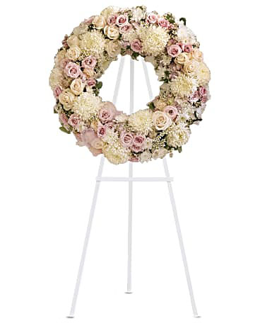 Peace Eternal Wreath-Same-Day-Flower-Delivery-Las Vegas-Henderson-NV