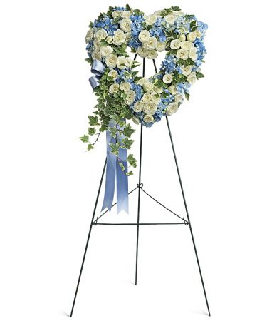 Pure-Heart-Funeral-Wreath-same-day-flower-delivery-in-las-vegas-henderson-whispers-and-honey