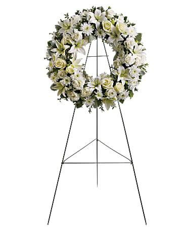 Serenity Wreath-Same-Day-Flower-Delivery-Las Vegas-Henderson-NV