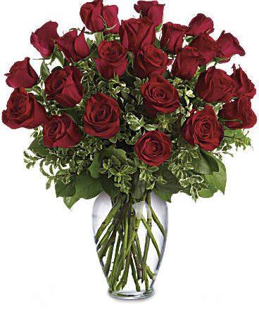 Two Dozen Long Stem Red Roses-Same-Day-Flower-Delivery-Las Vegas-Henderson-NV